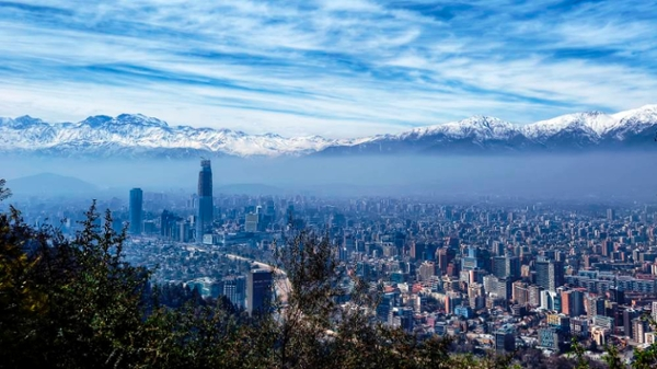 Santiago Chile skyline