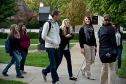 Take a walking tour of campus
